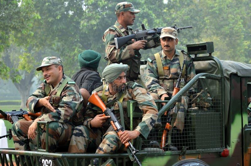 Ινδικός στρατός στοκ εικόνες