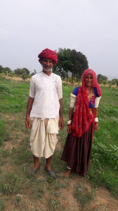 Ινδικός χωρικός στοκ εικόνες