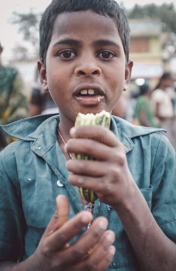 Ινδικό αγόρι στοκ φωτογραφίες