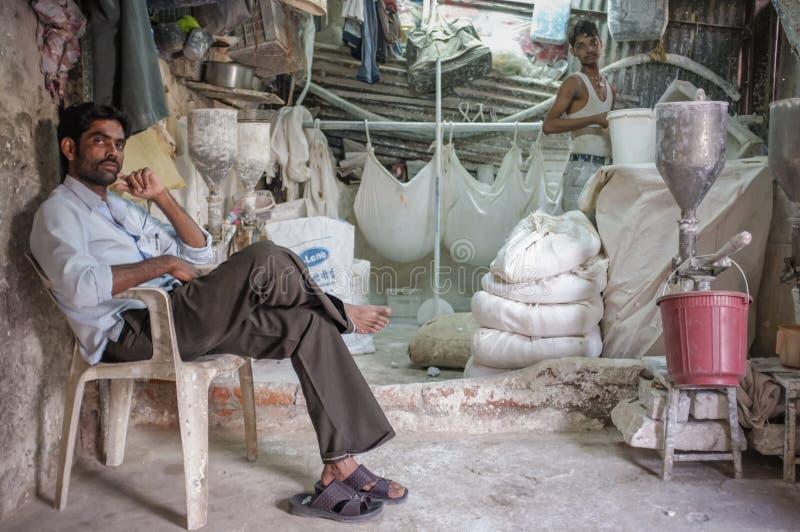 Ινδικό εργοστάσιο αλευριού στοκ φωτογραφία