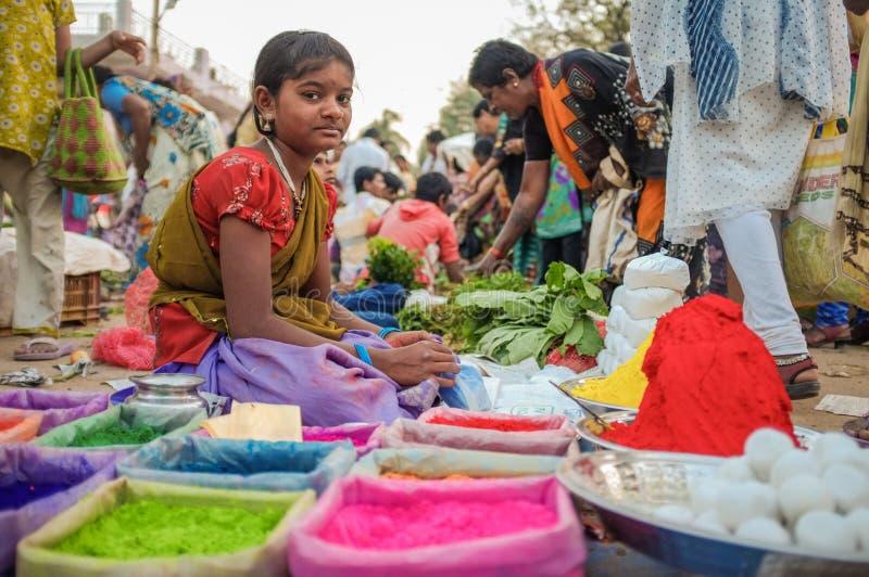 Ινδικό κορίτσι στοκ φωτογραφίες