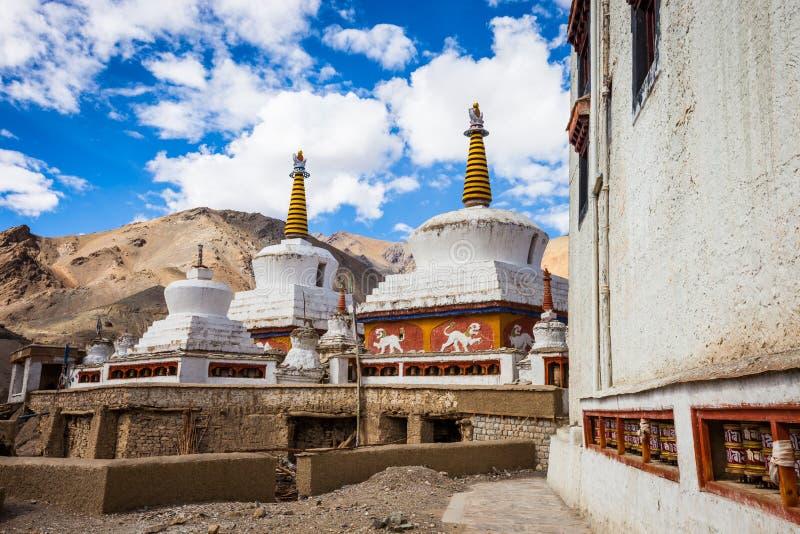 Ινδικό μοναστήρι Lamayuru στοκ φωτογραφίες