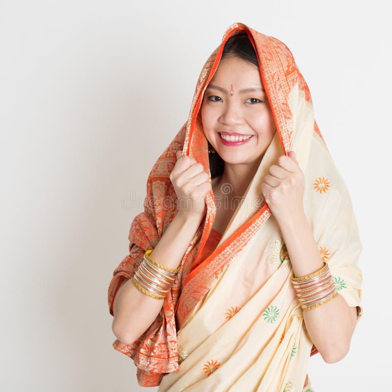 Ινδικό μουσουλμανικό κορίτσι στοκ φωτογραφία με δικαίωμα ελεύθερης χρήσης