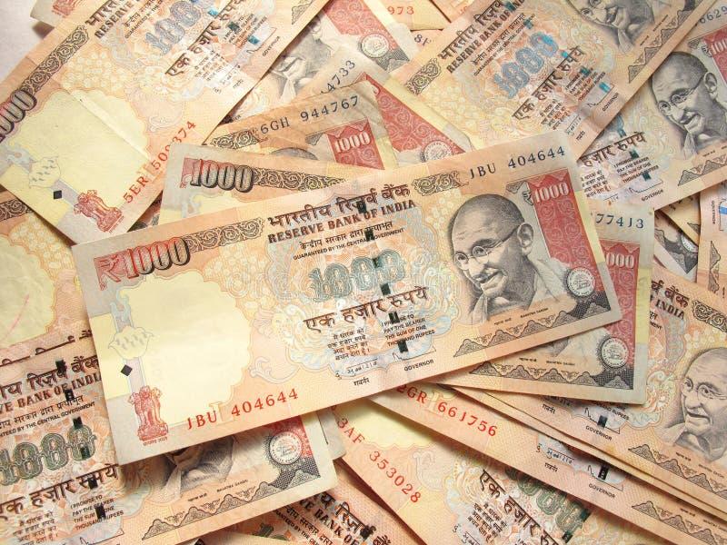 Ινδικό νόμισμα Στοκ Εικόνα
