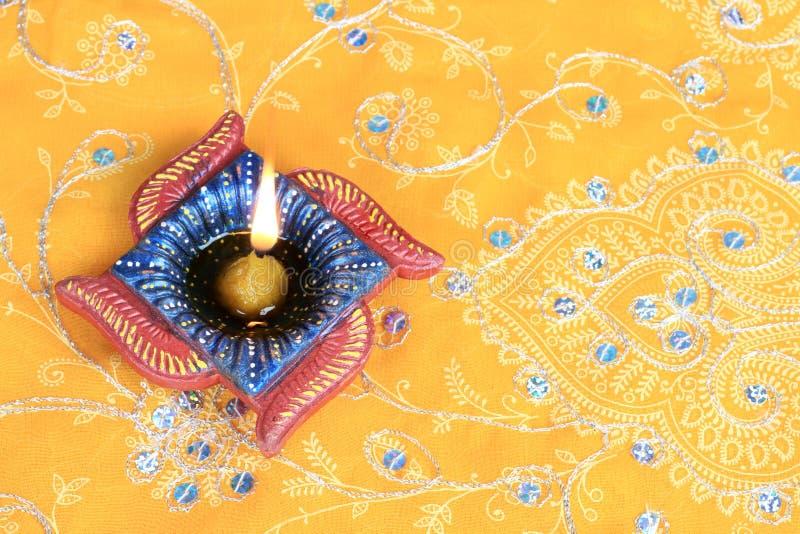 Ινδικό φως λαμπτήρων κεριών Diwali Diya φεστιβάλ στοκ εικόνες