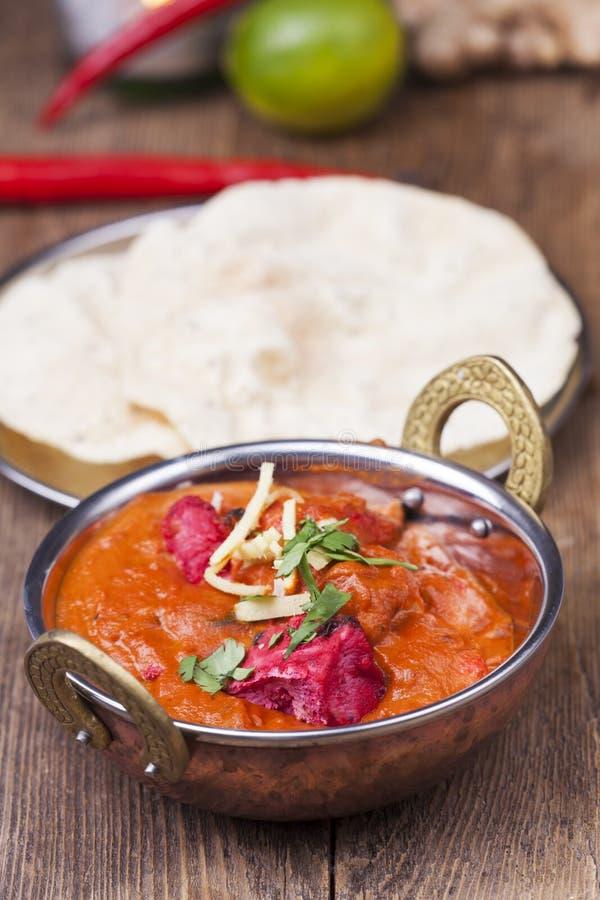ινδικό tikka κοτόπουλου στοκ εικόνα με δικαίωμα ελεύθερης χρήσης