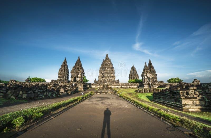 Ινδονησιακά σημεία τουριστών ναών Prambanan στοκ εικόνες