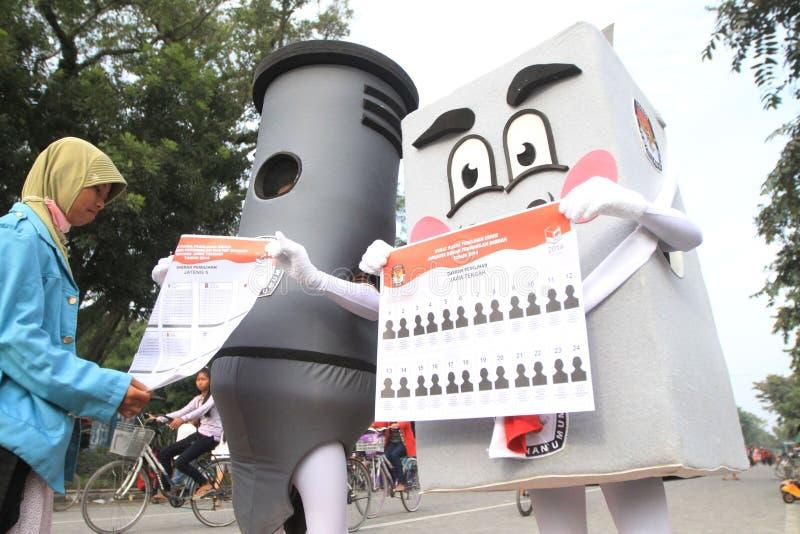 Ινδονησιακή κοινοβουλευτική εκλογή στοκ φωτογραφία με δικαίωμα ελεύθερης χρήσης