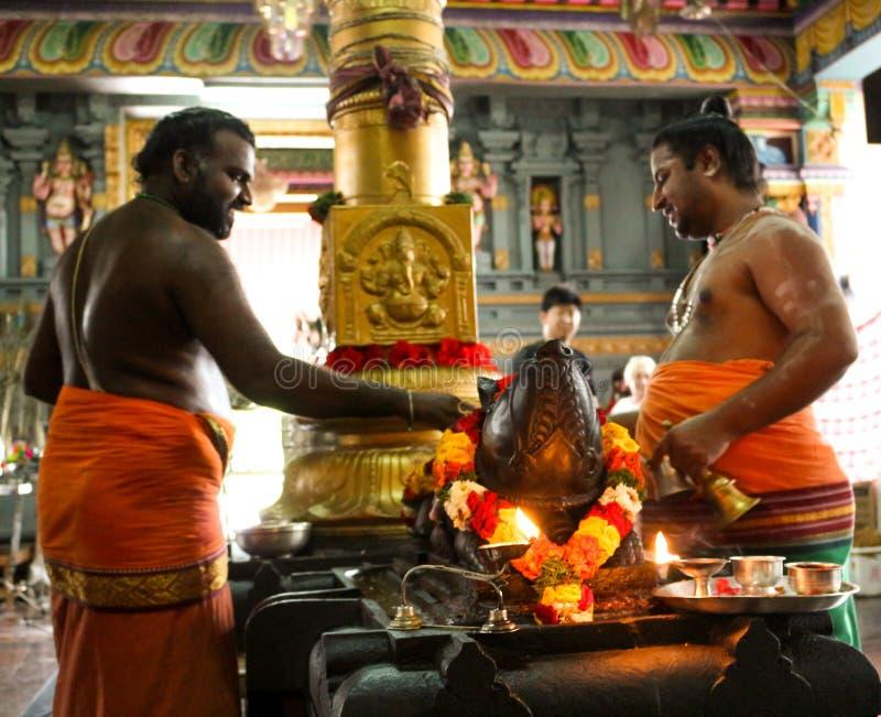 Ινδός ναός σε Βικτώρια Mahe Σεϋχέλλες στοκ φωτογραφία με δικαίωμα ελεύθερης χρήσης