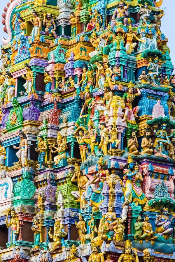 Ινδός ναός Σρι Λάνκα στοκ εικόνες