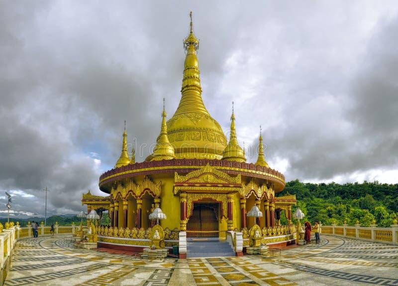Ινδός ναός στο Μπανγκλαντές στοκ εικόνες με δικαίωμα ελεύθερης χρήσης