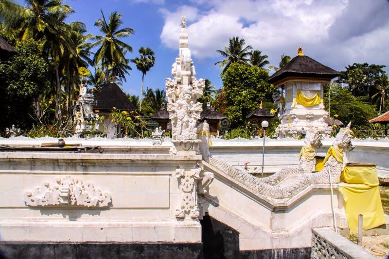 Ινδός ναός σύνθετος Nusa Penida, Ινδονησία στοκ φωτογραφία με δικαίωμα ελεύθερης χρήσης