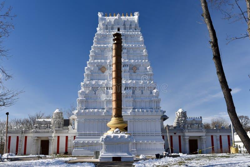 Ινδός ναός του μεγαλύτερου Σικάγου στοκ φωτογραφίες