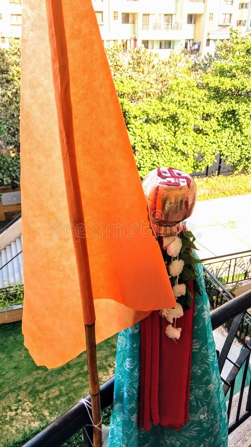 Ινδό φεστιβάλ του νέου έτους στοκ φωτογραφία