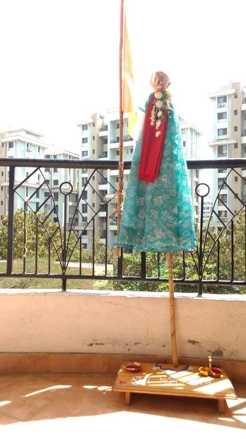Ινδό φεστιβάλ του νέου έτους στοκ φωτογραφίες