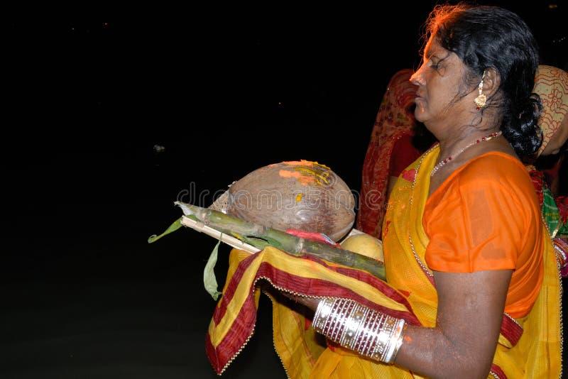 Ινδό φεστιβάλ Chatt στοκ φωτογραφίες με δικαίωμα ελεύθερης χρήσης