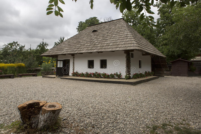 Ιονικό αναμνηστικό σπίτι Creanga στοκ εικόνες