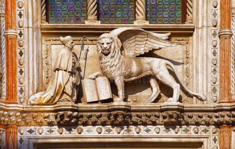 λιοντάρι Βενετία στοκ εικόνα