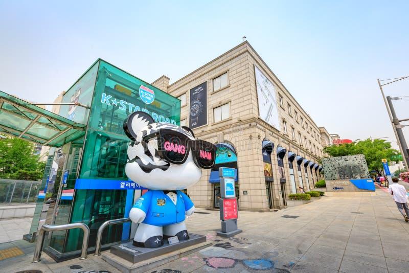 19 Ιουνίου 2017 πολυκατάστημα Galleria γνωστό ως δημοφιλέστερο στοκ φωτογραφία με δικαίωμα ελεύθερης χρήσης