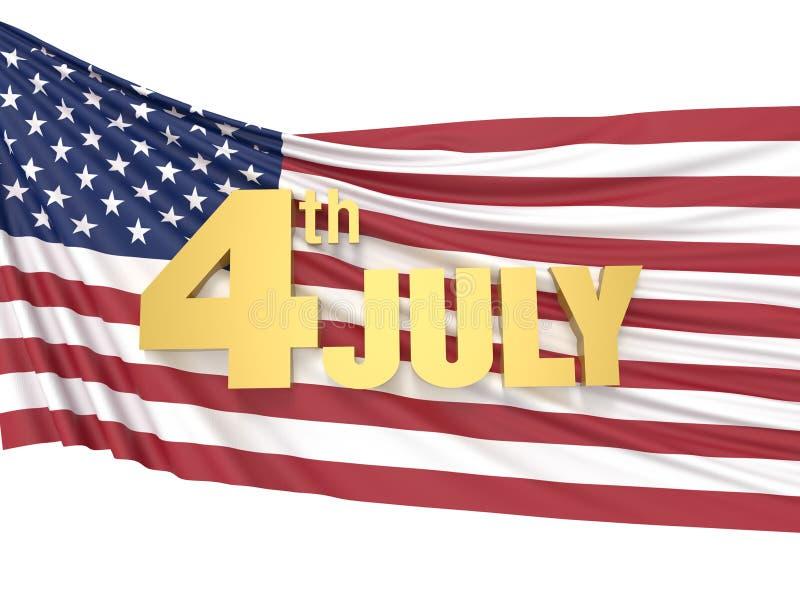 4 Ιουλίου ημέρα της ανεξαρτησίας στοκ φωτογραφία με δικαίωμα ελεύθερης χρήσης