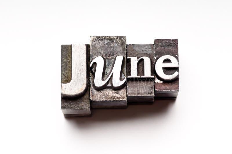 Ιούνιος στοκ εικόνα με δικαίωμα ελεύθερης χρήσης