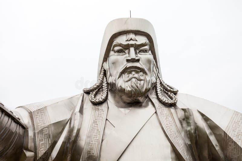 Ιππικό άγαλμα Khan Genghis στοκ φωτογραφία με δικαίωμα ελεύθερης χρήσης
