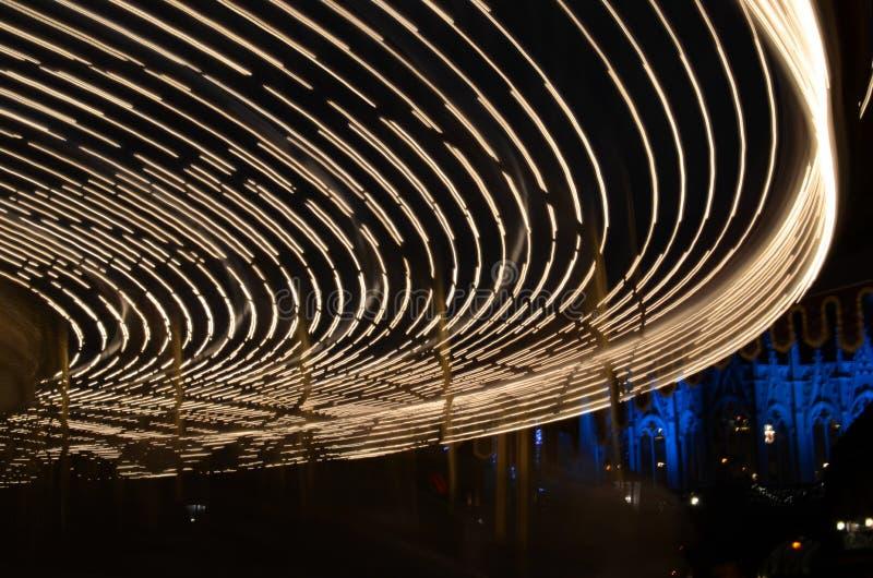 Ιπποδρόμιο στο νυχτερινό ουρανό στοκ εικόνες