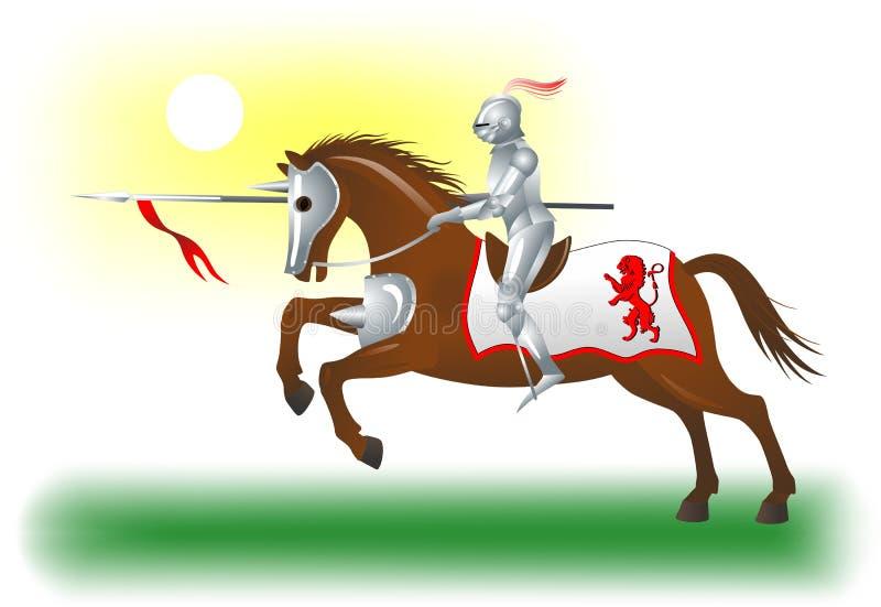 Ιππότης-άλογο-6 στοκ φωτογραφία