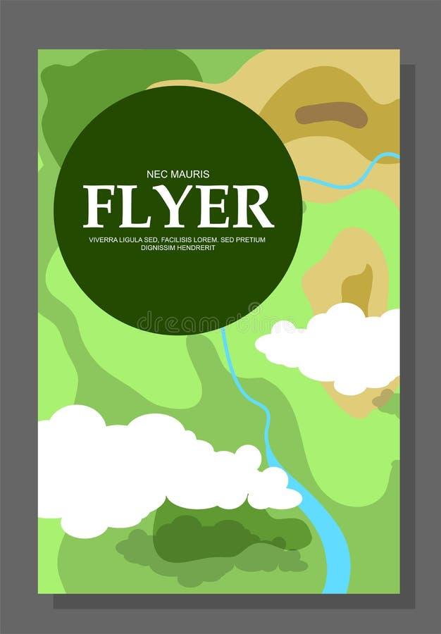 Ιπτάμενα με την έννοια ενός πεζοπορώ στα βουνά Ακραία ψυχαγωγία Περιοχές ελέγχου Επιβίωση ζωής στο ύπαιθρο ή στα ξύλα απεικόνιση αποθεμάτων