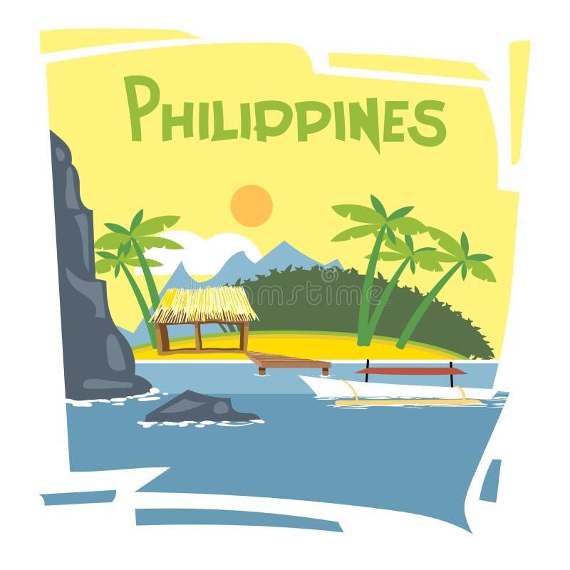 Ιπτάμενο των Φιλιππινών ελεύθερη απεικόνιση δικαιώματος