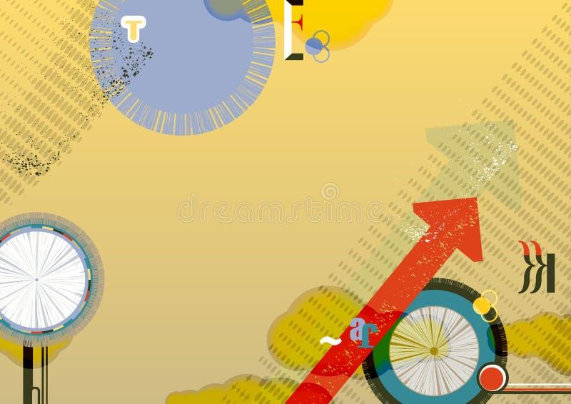 Ιπτάμενο, φυλλάδιο, σχεδιάγραμμα βιβλιάριων διανυσματική απεικόνιση
