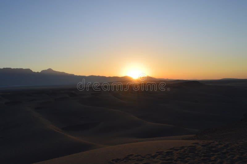 Ιράν Από Yazd στην έρημο στοκ φωτογραφία με δικαίωμα ελεύθερης χρήσης