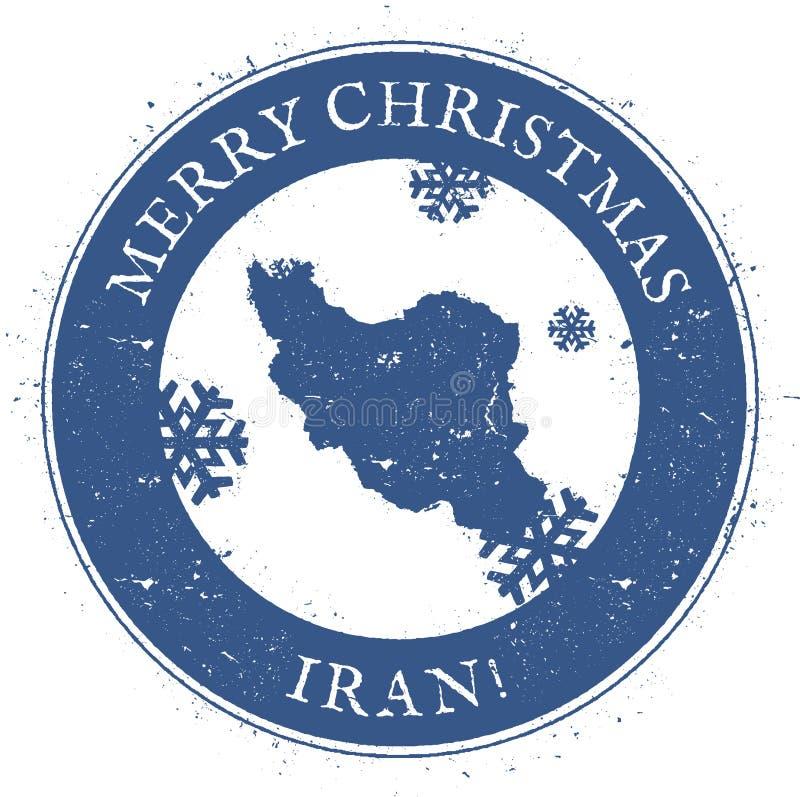 Ιράν, ισλαμική Δημοκρατία του χάρτη ελεύθερη απεικόνιση δικαιώματος