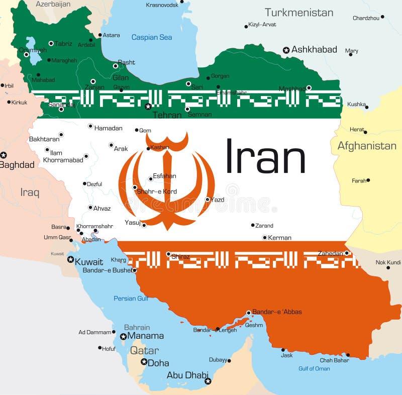 Ιράν απεικόνιση αποθεμάτων