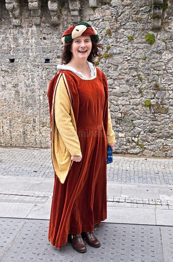 ιρλανδική κυρία μεσαιωνική στοκ φωτογραφία με δικαίωμα ελεύθερης χρήσης
