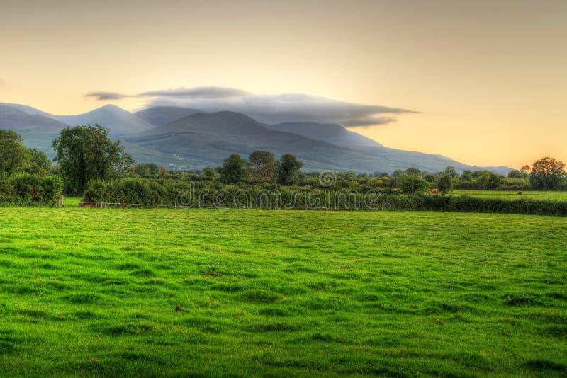 ιρλανδικό ηλιοβασίλεμα  στοκ εικόνες