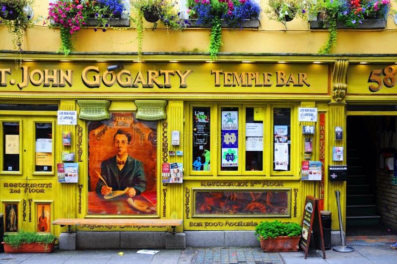 Ιρλανδικό μπαρ στοκ φωτογραφίες