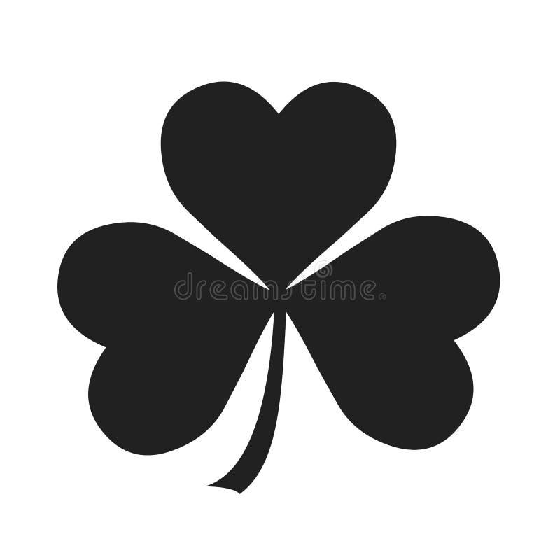 ιρλανδικό τριφύλλι διανυσματική απεικόνιση