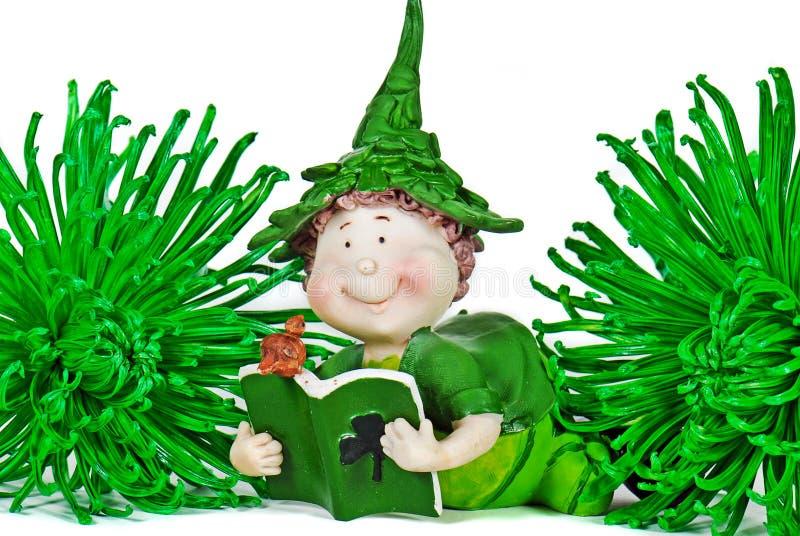 ιρλανδικό leprechaun στοκ φωτογραφίες με δικαίωμα ελεύθερης χρήσης