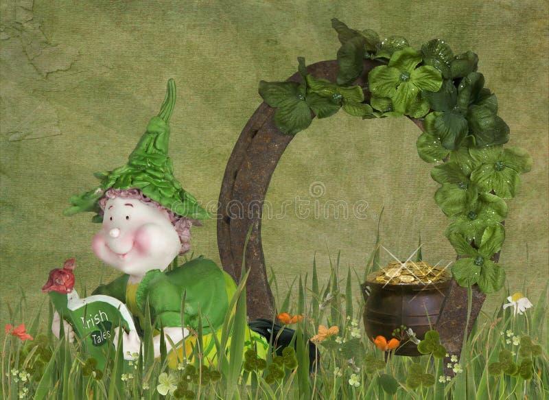 ιρλανδικό leprechaun διανυσματική απεικόνιση