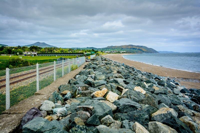 Ιρλανδική ακτή στοκ φωτογραφία