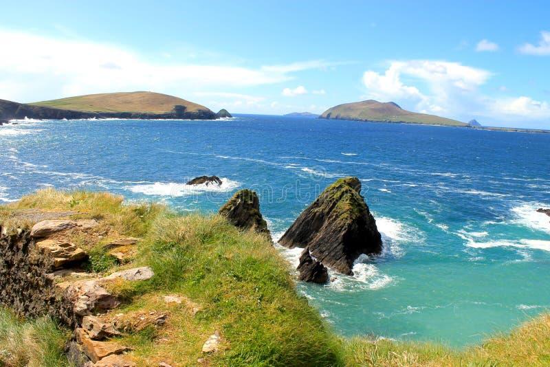 Ιρλανδική ακτή στοκ εικόνες
