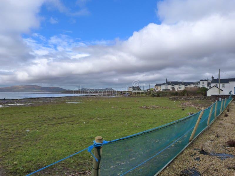Ιρλανδικό Cloudway στοκ εικόνες