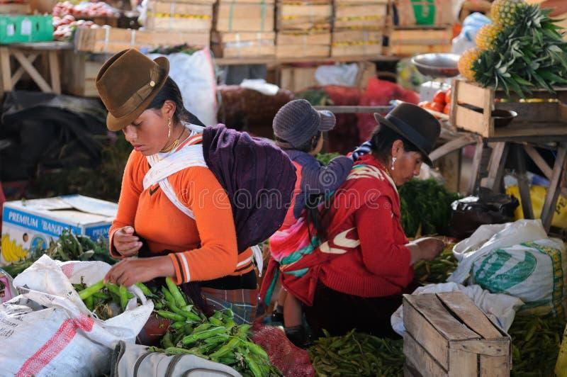 Ισημερινός, εθνική λατινική γυναίκα στοκ εικόνες