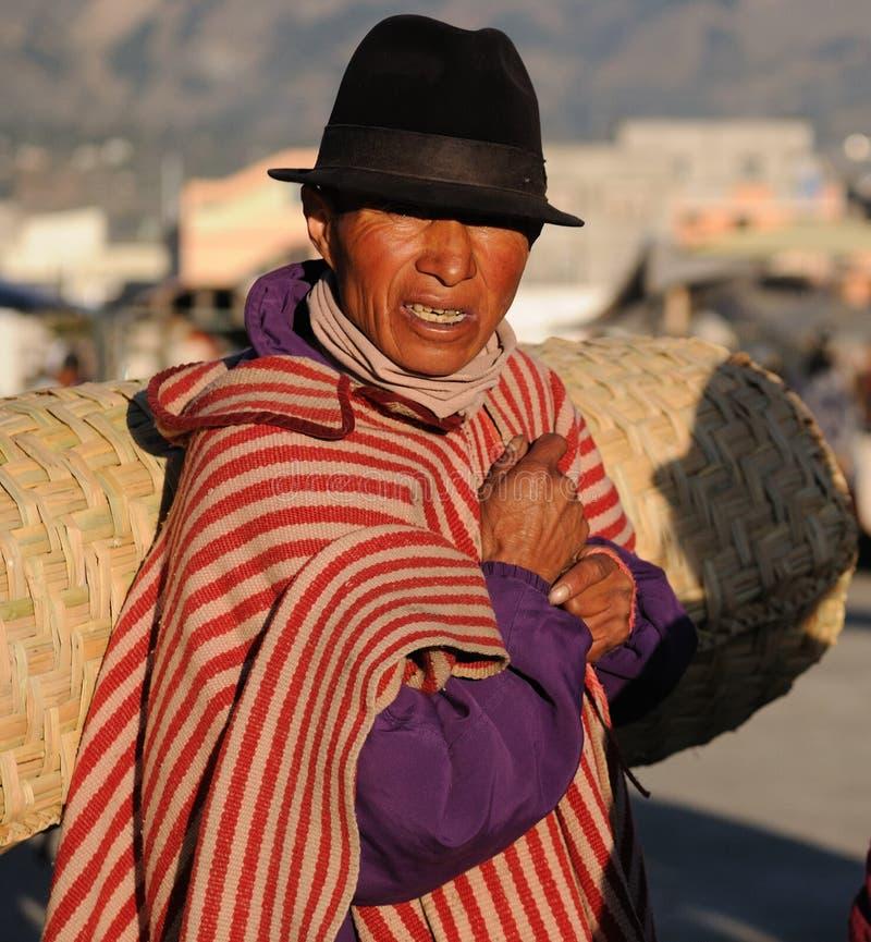 Ισημερινός, εθνική λατινική γυναίκα στοκ εικόνες με δικαίωμα ελεύθερης χρήσης