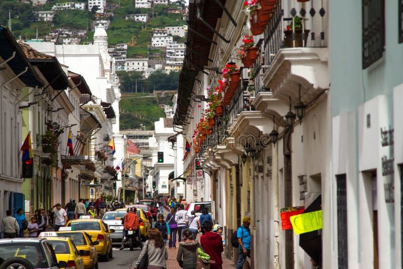 Ισημερινός Κουίτο στοκ φωτογραφίες με δικαίωμα ελεύθερης χρήσης