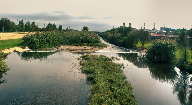 Ισιωμένοι μικροί ποταμοί της Ευρώπης στοκ φωτογραφίες με δικαίωμα ελεύθερης χρήσης