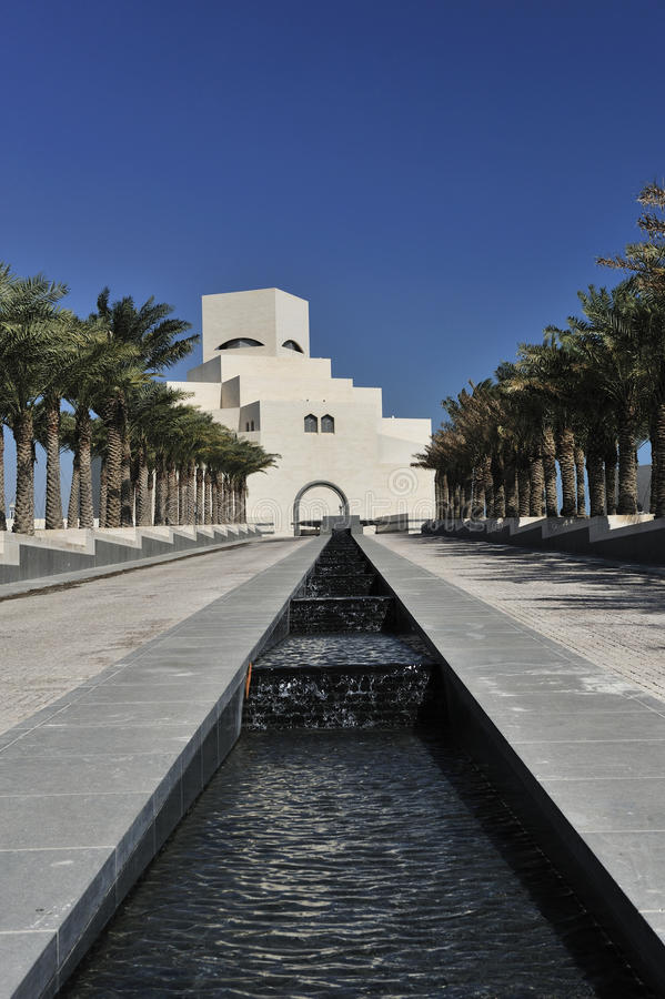 ισλαμικό μουσείο Κατάρ doha &ta στοκ φωτογραφίες