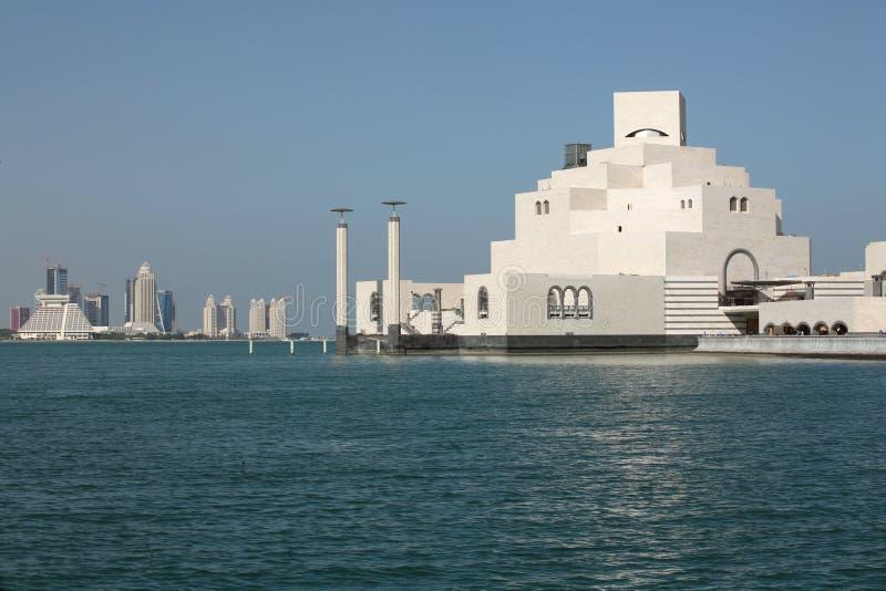 ισλαμικό μουσείο doha τέχνης στοκ εικόνα