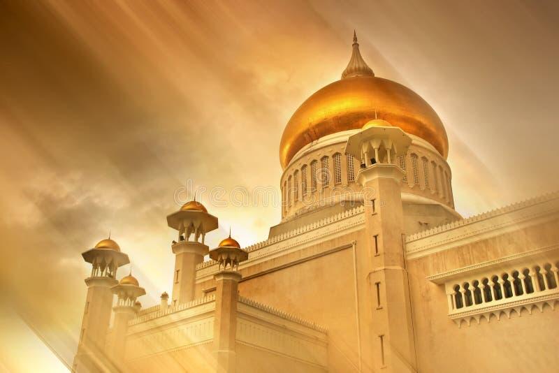 ισλαμικό μουσουλμανικό τέμενος στοκ φωτογραφία με δικαίωμα ελεύθερης χρήσης